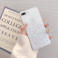 Bottom glitter iphone case