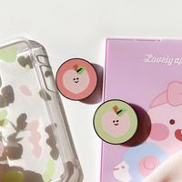 Jelly peach  grip for phone