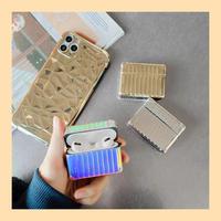 Metal color airpods case