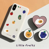 Little fruits hard with grip case 092