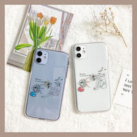 Summer boy girl clear case