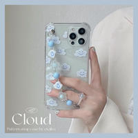 Cloud pattern strap iphone case