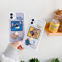 Mouse cat cookie iphone case