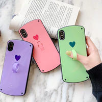 One heart stand  iphone case