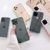 Pastel maracon color side iphone case