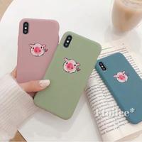 Pig 3colors iphone case