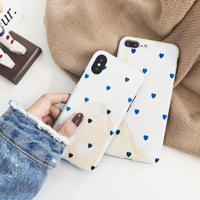 Small heart laser iphone case
