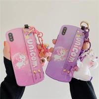 Unicorn  strap  iphone case