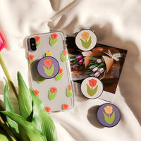 Tulip with grip iphone case