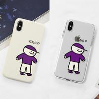 Good friend hard/clear case (purple) 281