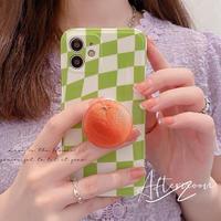 Orange grip iphone case