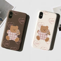 Friends love me bear hard case 308