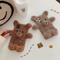 ⚠︎発送遅延⚠︎Mini bear fur iphone case