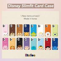 [Disney]  Tsum tsum matt slimfit card case