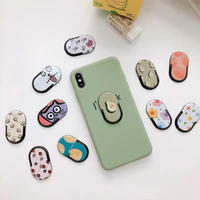 Oval grip for phone