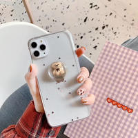 3D bear iphone case