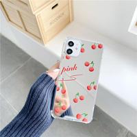 Cherry mirror iphone case