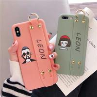 Leon Matilda strap iphone case