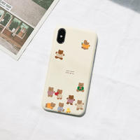 Gom gom bear hard case (Cream) 232