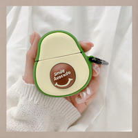 Smile avocado  airpods case