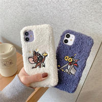 Mouse cat money fur iphone case