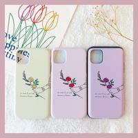 Flower hand slide card case (スライドカード収納ケース)