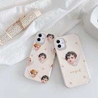 Angel pattern iphone case