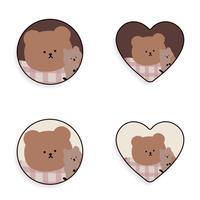 Friends love me bear grip 307