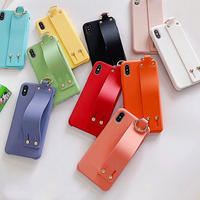 Silicone strap iphone case