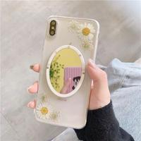 Daisy mirror iphone case