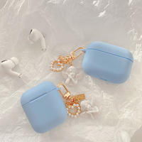 Angel keyring skyblue airpods case