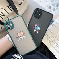 Mouse cat face color side iphone case