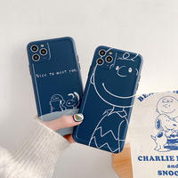 Nice to meet you blue iphone case