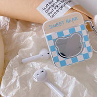 Sweet bear mirror airpods case