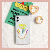 Happy day rabbit  with grip case