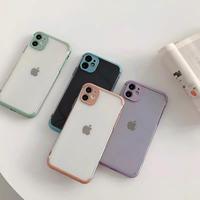 Purple orange green skyblue color side iphone case