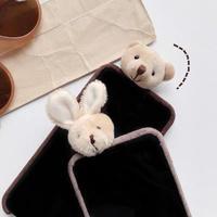 Bear rabbit doll iphone case