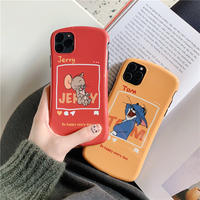 Mouse cat red yellow  iphone case