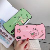 Crocodile fruits iphone case