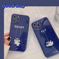 Astronaut enjoy fly iphone case