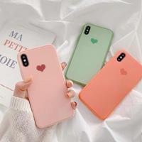 One heart hard iphone case