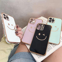Smile gold 4colors iphone case