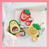 Fruits glitter  airpods case