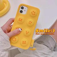 Smile face iphone case