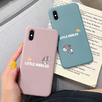 Mouse pink blue iphone case
