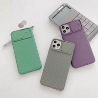 Camera protection iphone case (Lightgreen, Grey, Purple)