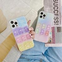 Pastel bear iphone case