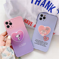 Hug touch me with heart grip iphone case