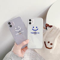 Happy everyday clear iphone case