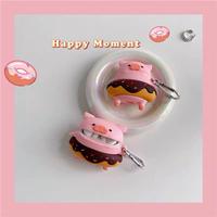 Pig doughnut  airpods case